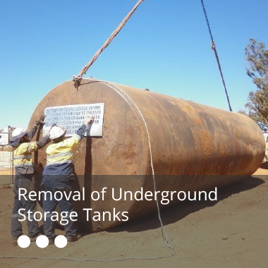 Removal of Underground Storage Tanks