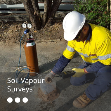 Soil Vapour Surveys